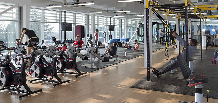 State of the art facilities for cardio and strength & conditioning